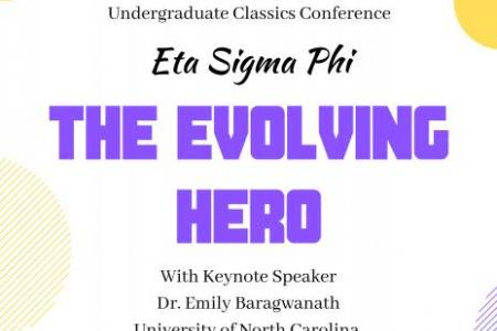 Poster of The Evovling Hero Eta Sigma Phi