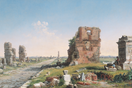 Chapman Via Appia painting