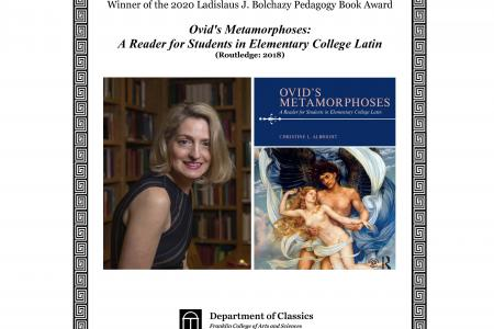 Dr. Christine Albright Winner J. Bochazy Pedagogy Book Award